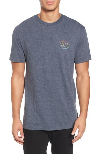Billabong Flat Line T-Shirt, Blue
