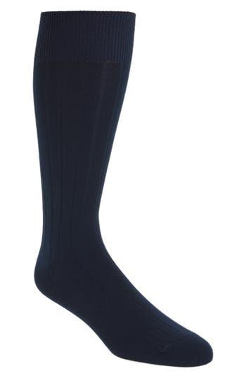 Nordstrom Men's Shop Ultra Soft Solid Ribbed Socks