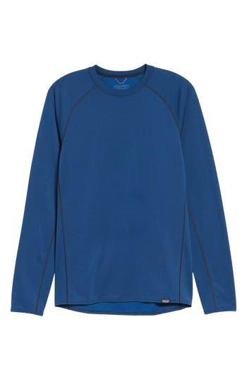 Patagonia Capilene Midweight Base Layer T-Shirt, Blue
