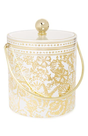 Lilly Pulitzer Ice Bucket, Size One Size - Metallic