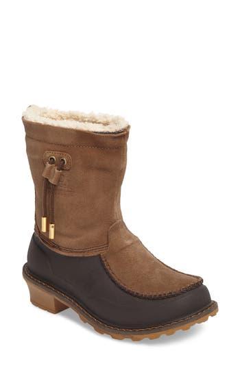 Woolrich Fully Wooly Waterproof Winter Boot, Black