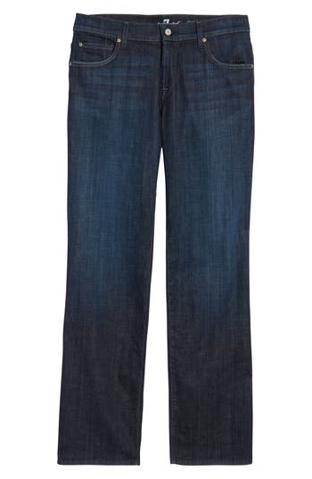 7 For All Mankind Austyn Relaxed Straight Leg Jeans, Blue