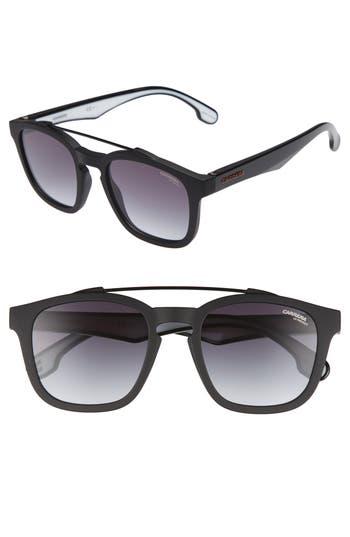 Carrera Eyewear 1011S Sunglasses - Matte Black/ Drk Gray Gradient