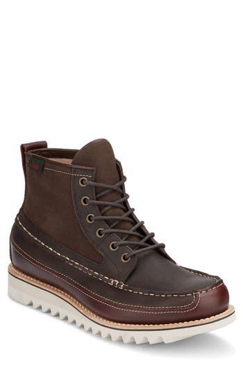 G.h. Bass & Co. Nickson Razor Moc Toe Boot, Brown