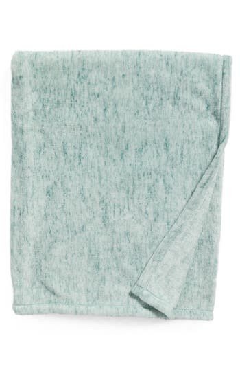 Nordstrom At Home Heathered Throw, Size One Size - Blue/green