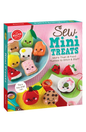 Girl's Klutz Sew Mini Treats Sewing Kit