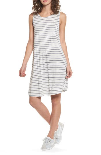 Roxy Sugar Space Shift Dress, White