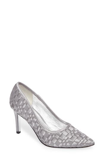 Adrianna Papell Hasting Pointy Toe Pump- Grey