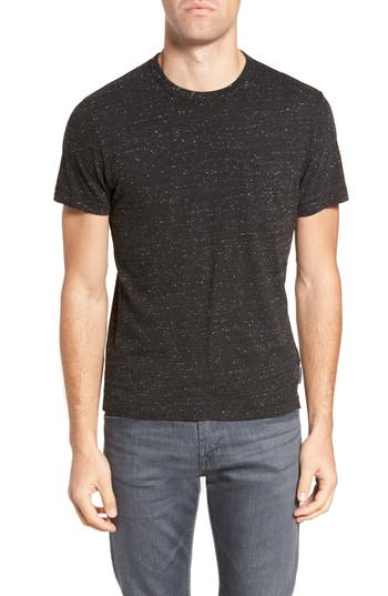 French Connection Granite Grindle Slim Fit T-Shirt, Black