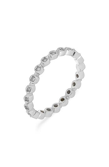 Women's Carriere Bezel Diamond Stackable Ring (Nordstrom Exclusive)