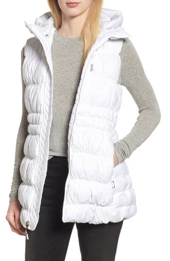 The North Face Cryos 800-Fill-Power Down Vest, White
