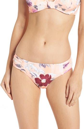 Women's Seafolly Modern Love Bikini Bottoms, Size 4 US / 8 AU - Pink