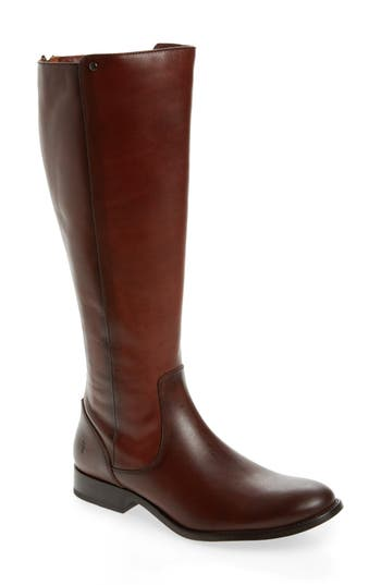 Frye Melissa Stud Knee High Boot, Regular Calf- Brown