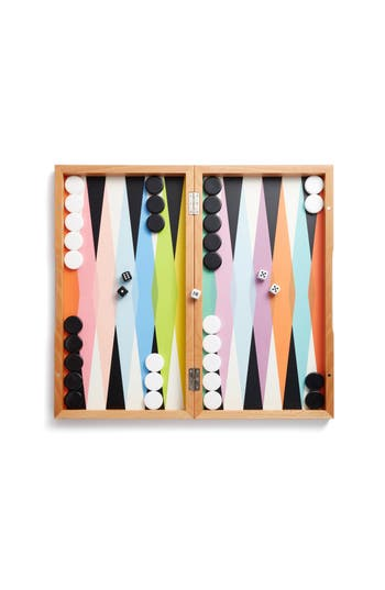 Moma Design Store Colorful Backgammon Set