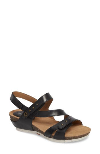 Josef Seibel Hailey 33 Sandal, Black