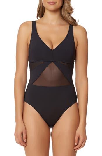 Bleu By Rod Beattie Strappy Back One-Piece Swimsuit, Black