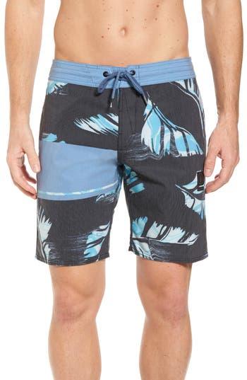 Volcom 3 Quarta Stoney Board Shorts, Blue