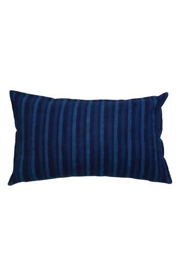 Pom Pom At Home Indigo Stripe Accent Pillow, Size One Size - Blue