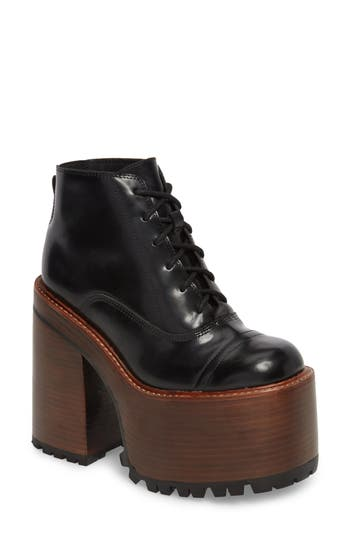 Jeffrey Campbell Takeoff Platform Boot, Black