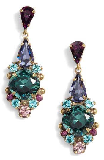 Sorrelli Alyssum Crystal Drop Earrings