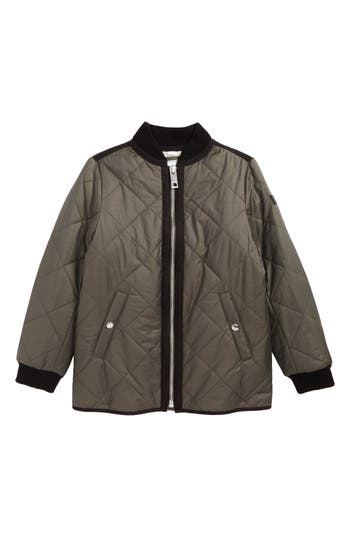 Girls Burberry Ila Quilted Jacket