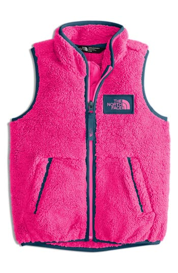 Girl's The North Face Campshire Vest, Size 5 - Pink