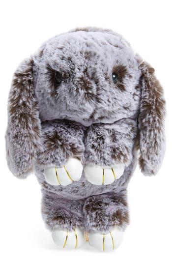 Girl's Cara Plush Bunny Backpack - Grey