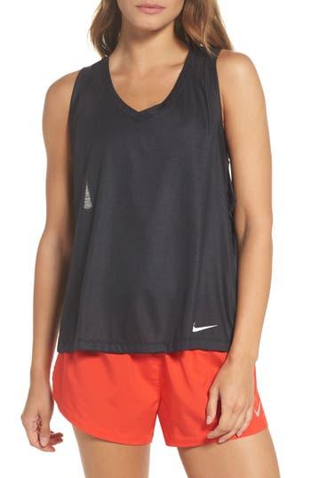 Nike Breathe Tank, Black