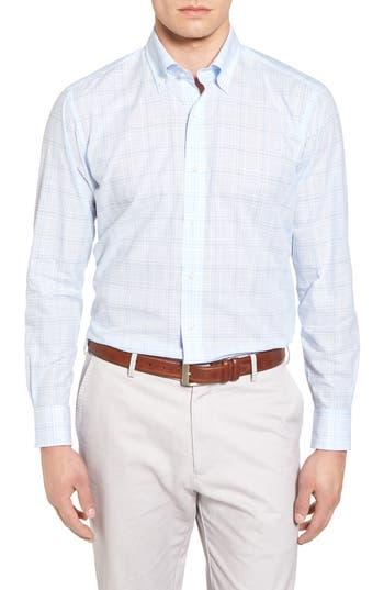 Men's Peter Millar Collection Laguna Plaid Sport Shirt