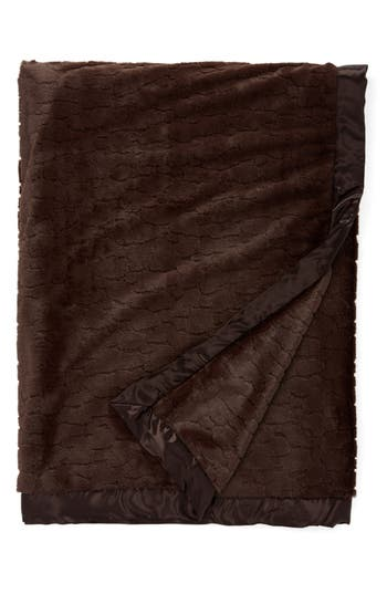 Giraffe At Home Luxe(TM) Xl Embossed Throw, Size One Size - Brown