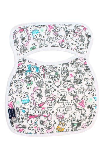 Infant Girls Bebe Au Lait Tokipops Pullover Bib