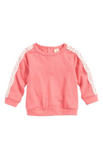 Infant Girls Tucker  Tate Lace Sleeve Top