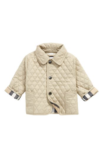 Infant Boys Burberry Colin Quilted Jacket