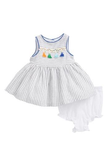 Infant Girls Pippa  Julie Stripe Tassel Dress