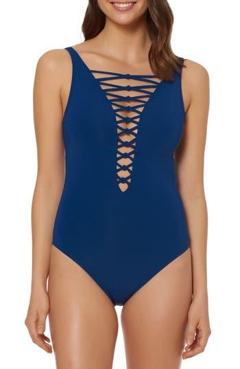 Bleu By Rod Beattie One-Piece Swimsuit
