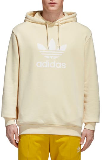 Adidas Originals Trefoil Logo Hoodie, Yellow