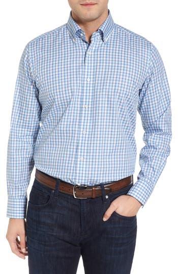 Men's Peter Millar Collection Schooner Check Sport Shirt