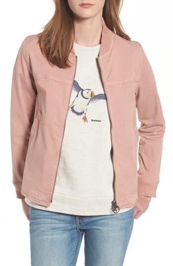 Barbour Mabel Overshirt Jacket, US / 8 UK - Pink