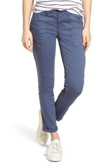 Wit & Wisdom Twill Cargo Pants, Blue