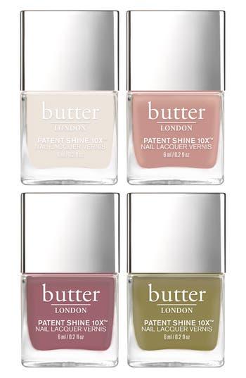Butter London Royal Garden Nail Lacquer Set - No Color