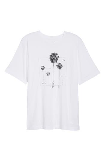Travis Mathew Play Hard Graphic T-Shirt, White
