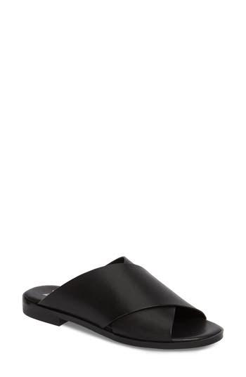 Marc Fisher Ltd Idinia Crisscross Slide Sandal, Black