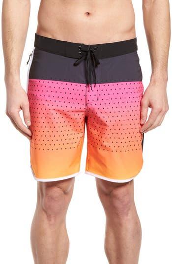 Hurley Phantom Motion Third Reef Board Shorts, Red