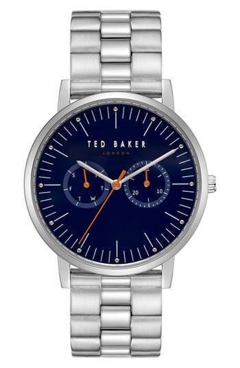 Ted Baker London Brit Multifunction Bracelet Watch, 40mm