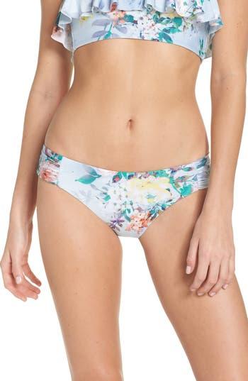 Becca Femme Flora Hipster Bikini Bottoms, Blue