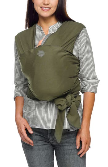 Infant Moby Wrap Baby Carrier Size One Size  Green