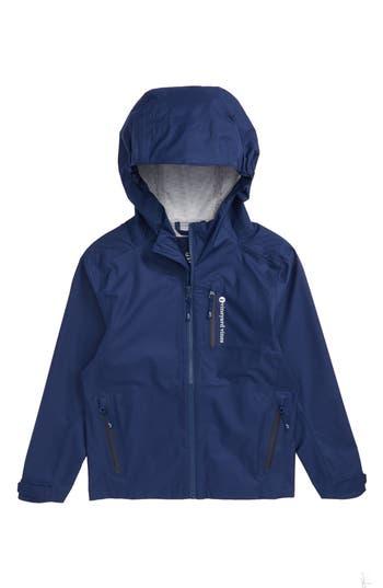 Boys Vineyard Vines New Hooded Rain Jacket