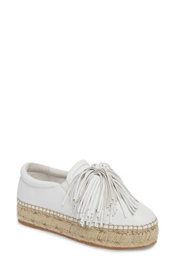 Jslides Raoul Espadrille Sneaker, White
