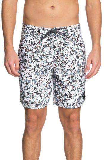 Quiksilver Variable Swim Shorts, White
