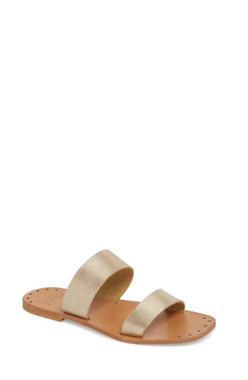 Joie Bannerly Strappy Sandal, Beige